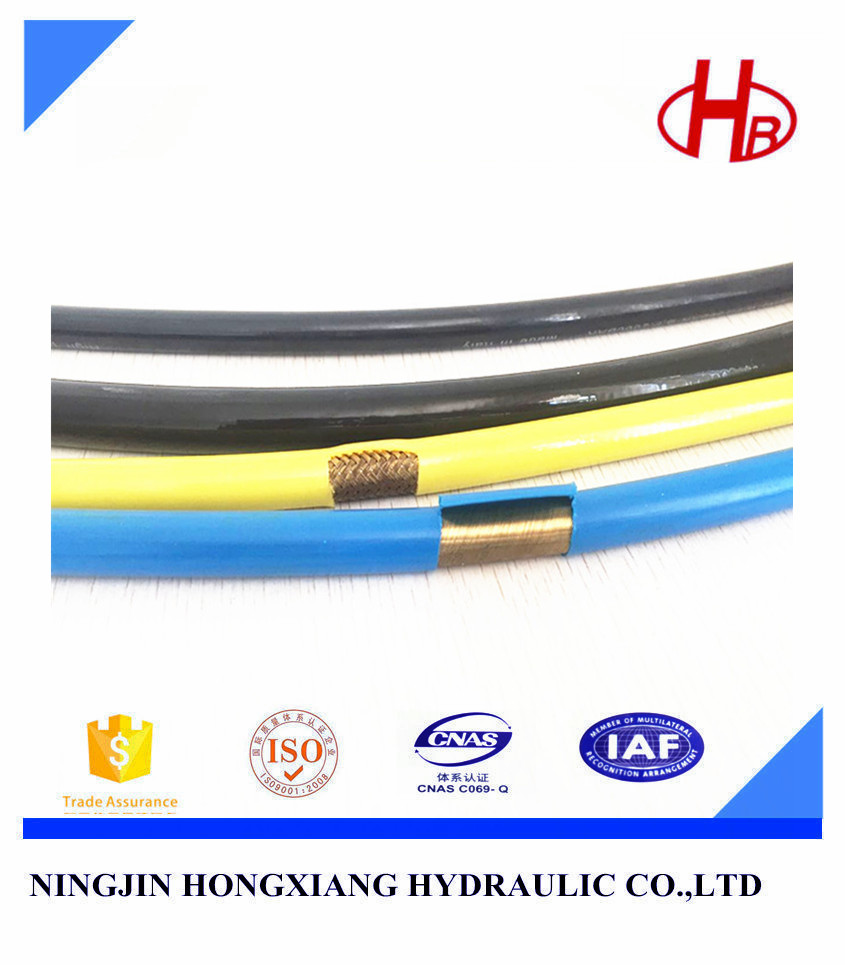 High pressure steel wire braided rubber hydraulic hose crimping tools