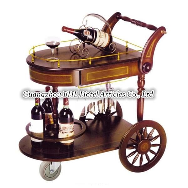 H tel fournitures vintage pour servir du vin chariot for Fourniture pour restaurant