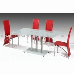 Plastic Dining Table & chair