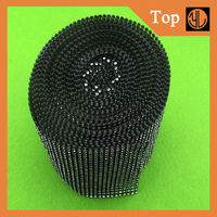 24 lines plastic mesh trimmings for used clothing decorative lace trim