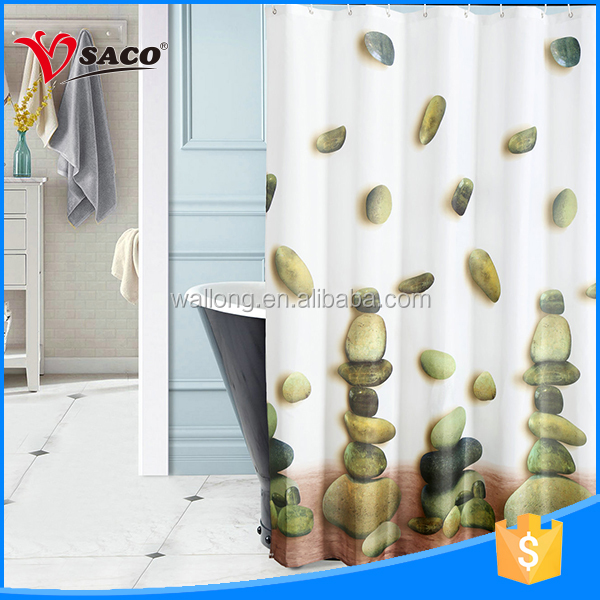 Factory price professional design100% polyester curtain