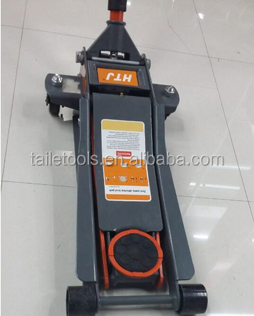3T High Quality Dual Pump Low Horizontal Car Hydraulic Floor Jack