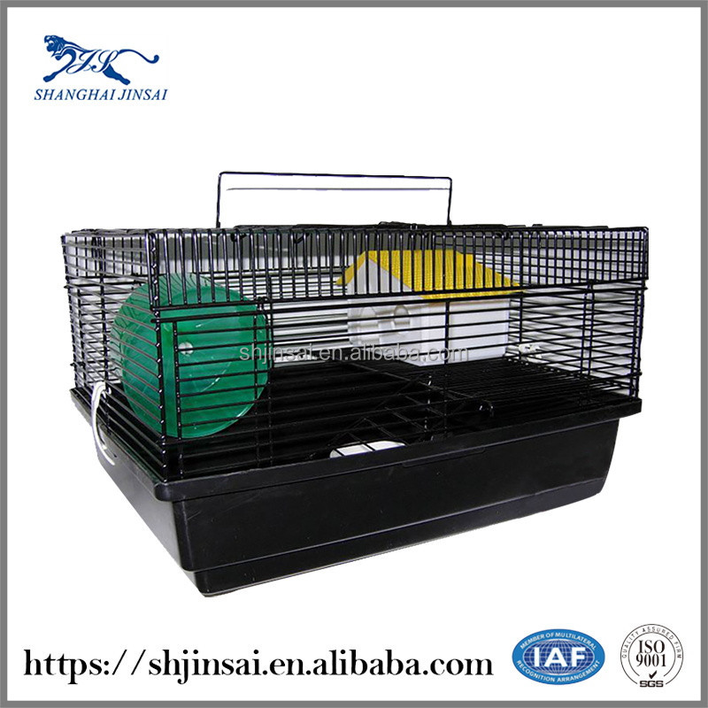 Powder Coated Bird Cage Wire Double Dog Cage Oxygen Dog Cage
