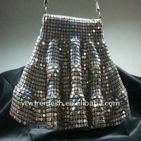 metallic spangle cloth/metal fabric cloth for interior decoration