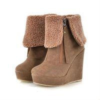oullis shoes 2012 fashion latest design lady boot XW209