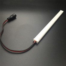 illuminated light up counter top 12v 185mm 4w led lighted bar
