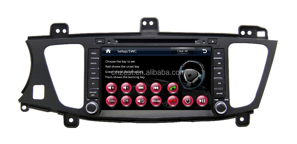 car dvd gps studio For KIA K7 car gps with auto radio Bluetooth SD USB Radio wifi 3G