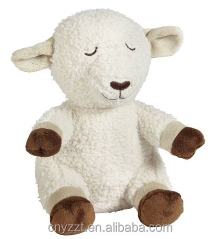 Plush Bedtime Sound Soother Sheep toy/stuffed baby bedtime sheep toy/sheep animal sound toy