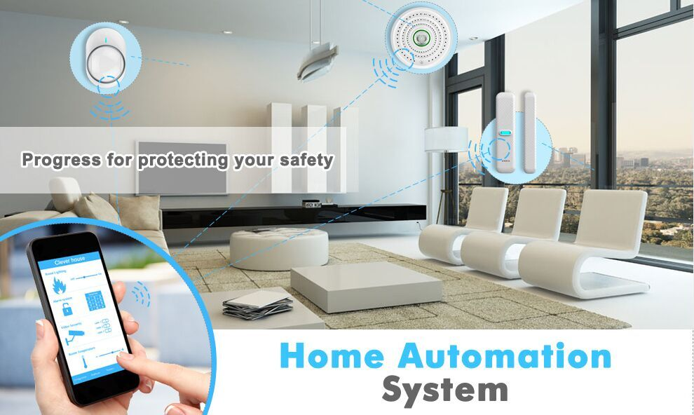 2017 High Quality Smart Home Security smart home automation system