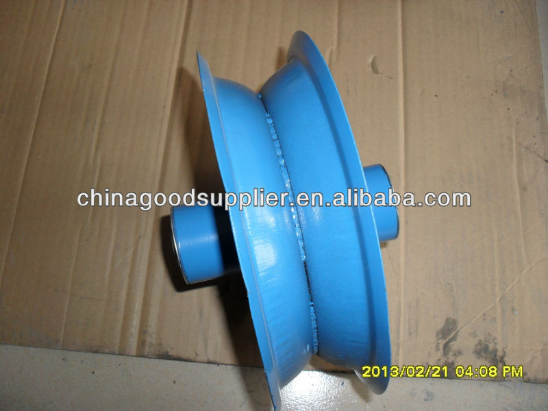 Metal rim with painting color for rubber wheel 5.00-6