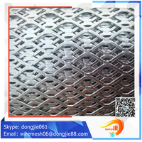 Best price Powder coated expanded sheet/stainless steel expanded metal mesh (factory sales)
