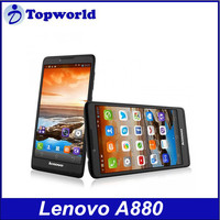 6 inch big touch screen Lenovo A880 MTK6582 Mobile phone