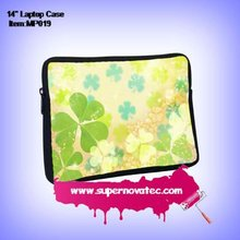 Custom Neoprene Laptop Sleeve with 1 side heat transfer