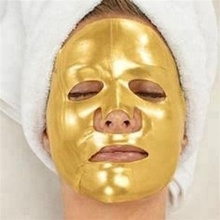 Hot Best Selling Products Private Label Crystal 24K Gold Collagen Facial Face Mask for Anti-Aging Moisturizing Skin Care