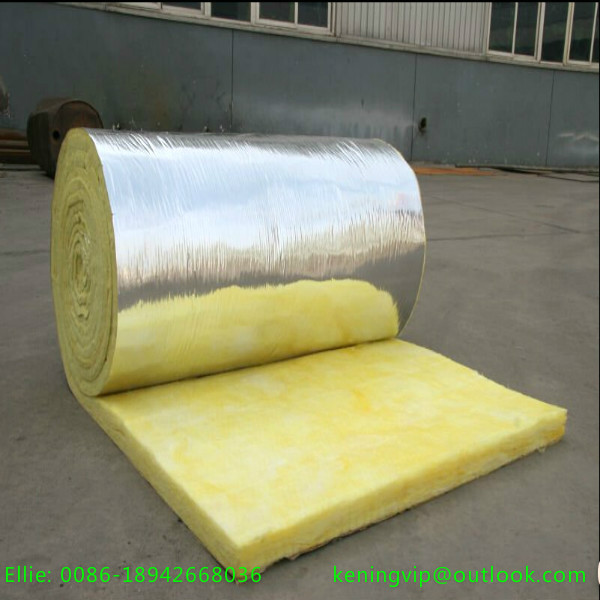 Glass wool blanket with printed package fiber glass wool for Fiber wool insulation