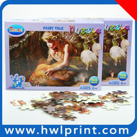 funny toys & kids gifts jigsaw puzzle cartoon girl
