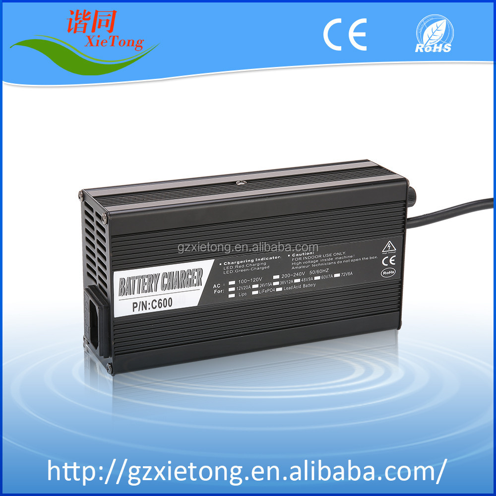 wide voltage battery charger 24v e-bike battery charger