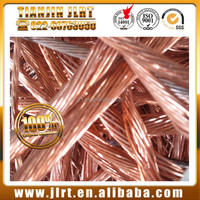 high pure 99.99% millberry bare cable wire and copper scrap price for sale