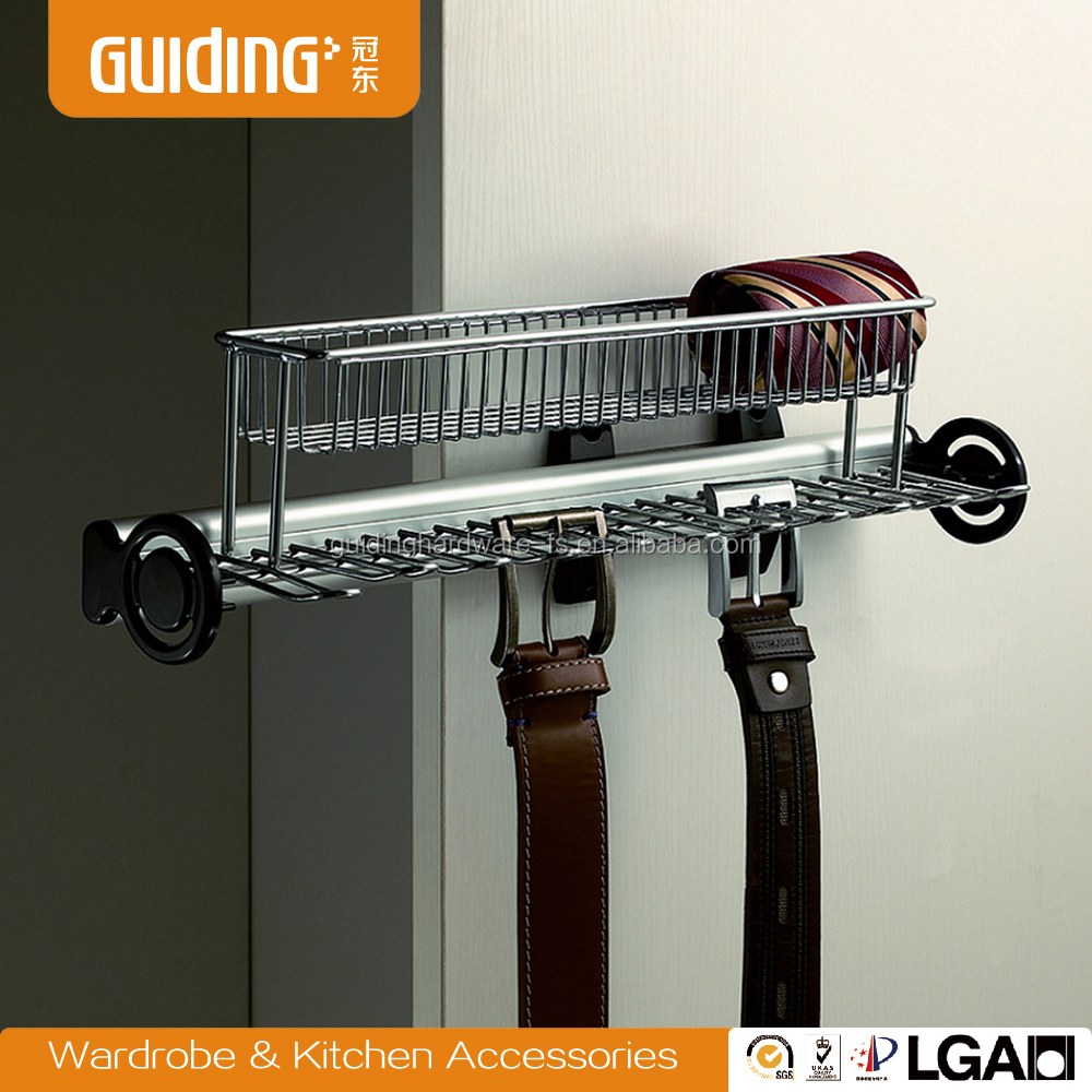 wardrobe belt hangers and tie racks