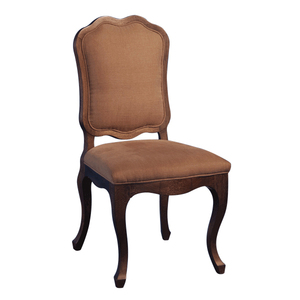 Luxury Dinning Room New Wooden Armless Dining Chair With fabric seat AC05-01 From China Supplier- JLC Luxury Home Furni