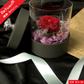Black Round Flower Box High Quality