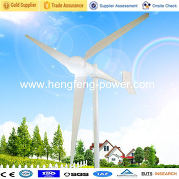 3KW Max Power 4500W family usage Wind Turbine Generator/Hot sale wind power generator