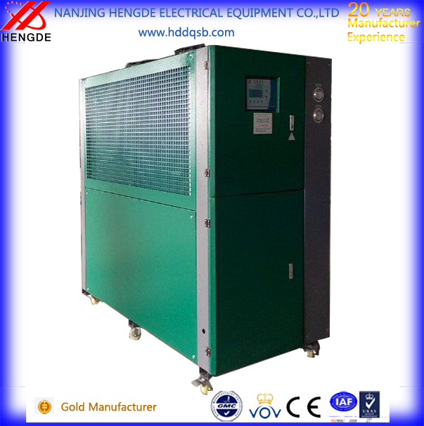 87kw CE air cooled screw chiller