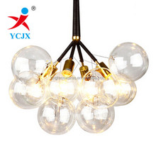 Wholesale Clear Glass Globe Light Cover / Standard Glass Ball Lampshade