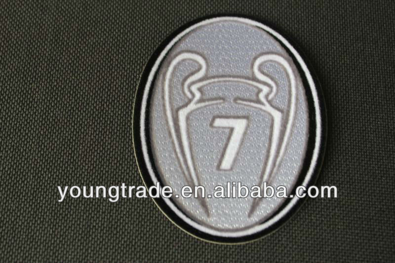 Top Grade thailand quality AC milan UEFA new BOH 7 badge of hornor 7 soccer patches
