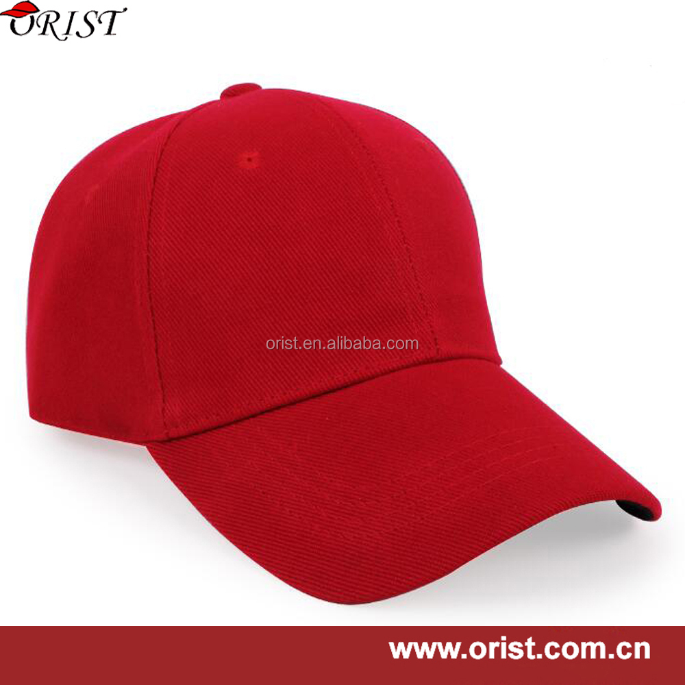 all kinds baseball cap cotton 6 panel with adjustable closure at back