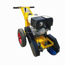 Self propelled road concrete crack cleaning machine