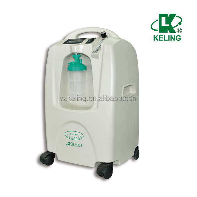 KL-ZY5LW Fresh oxygen generator medical used equipment
