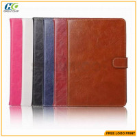 Luxury Classic Wallet Glossy PU Leather Case For Ipad Mini 4