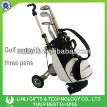 Mini Waterproof Golf Travel Bag Cover With Wheel