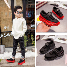 2018 Spring New Wholesale Cheap Boy Mesh Active Sports Shoes