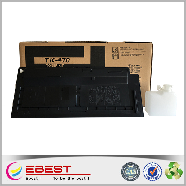 Ebest TK-478 Black and Full Cartridge's Status compatible for Kyocera copier toner cartridge
