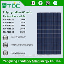 Promotional cheap 260w 270w 280w PV poly solar panel for sale and solar energy system home