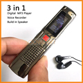 Multi-function Digital MP3 Player with Voice Recorder Build in Speaker 8GB