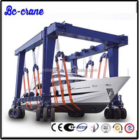 Popular Travelling Port Mobile Container hoist crane for lifting boat