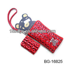 2012 Fashion pu leather wholesale phone bag