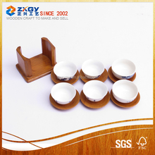 Promotional Gifts Wooden Custom Cheap Popular Cup Mat