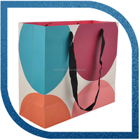Paper Bags Packaging Colorful Large Paper Bag Printing