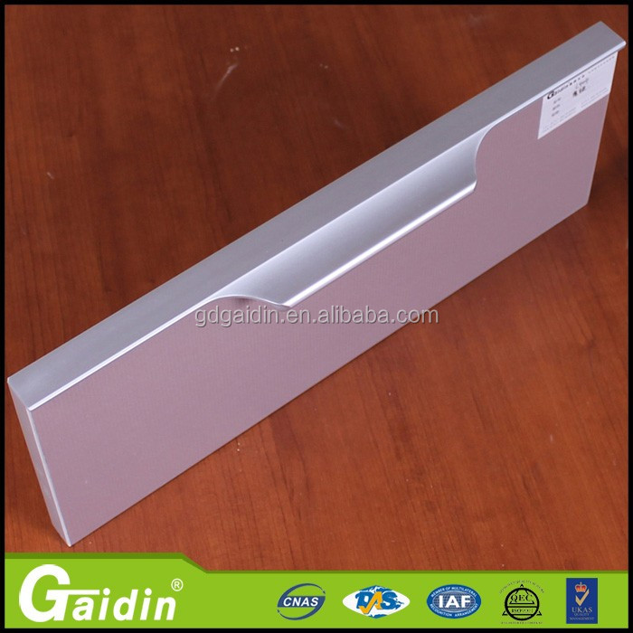 aluminum kitchen cabinet edge handle furniture door handle furniture hidden handle