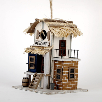 YN9053 wooden birdhouse