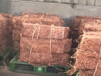 Manufacturer of straight supply copper wire scrap 99.99% with best price