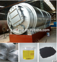 DAYI Waste tires to crude oil equipment used tire pyrolysis plant for sale waste tire pyrolysis recycling machine with CE