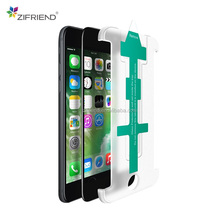 2018 New Design round edge 3d curved mobile tempered glass screen protector for iphone 6 with easy install tool