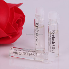 wholesale lash glue eyelash extention plass packaging clear glue with private label