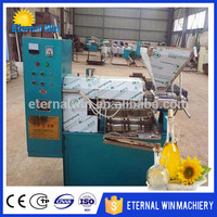 High efficiency sesame oil press machine / edible oil mill / coconut oil cake making machine