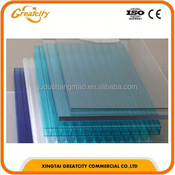 2.0mm good flexibility light plastic construction material frp sun board